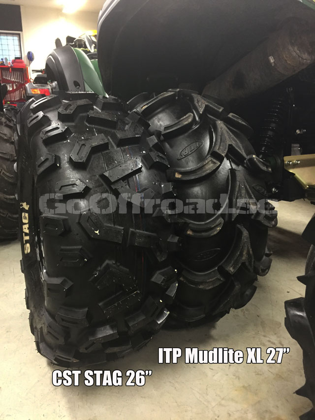 Cst Stag Have Anyone Tried Them Yamaha Grizzly Atv Forum